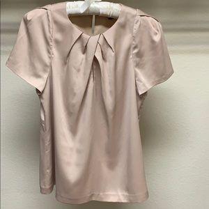 🌷Ann Taylor Sheer Top Blouse Petal Sleeves 🌷